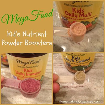 MegaFood Kids Nutrient Booster Powders : A #MomsMeet Product Review
