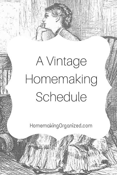 a-vintage-homemaking-schedule