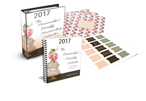 2017 Homemaker's Homemaking Weekly Planner Bundle