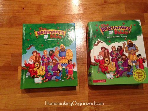 The Beginner's Bible by Zonderkidz a Homeschool Review Crew