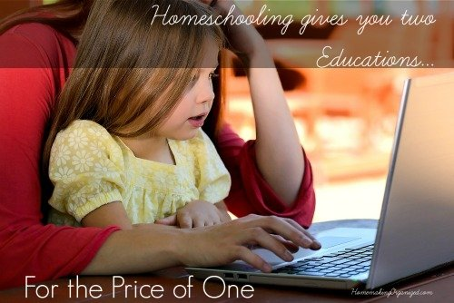 We have a homeschool schedule that fits our family life.