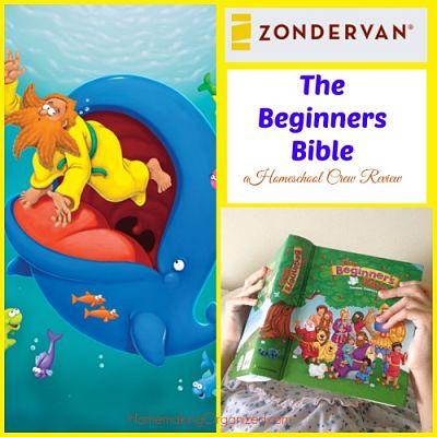 The Beginner's Bible by Zonderkidz a Homeschool Review Crew Review