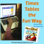Get Multiplication Times Table Help by Times Tables the Fun Way {Review}