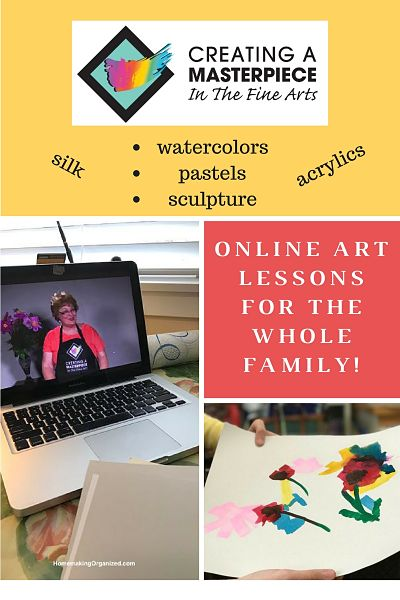 Creating a Masterpiece Online Art Lessons for the Whole Family ~ A Review