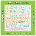 More Out of the Books Math Learning – Mini Series – Day 4 – 5 Days of Homeschool…