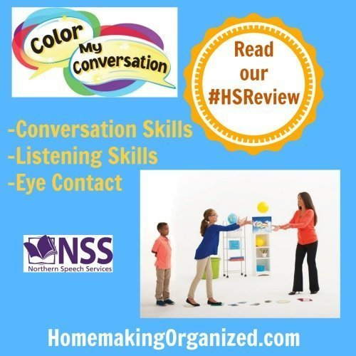 Helping Children Develop Their Speech Skills with Color My Conversation {Review}