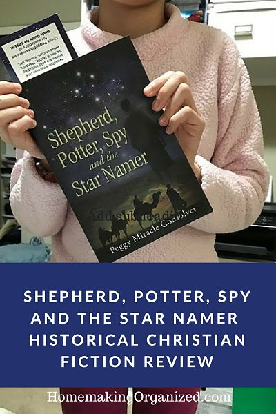 We recently reviewed Shepherd, Potter, Spy, and the Star Namer by Peggy M Consolver. My daughter enjoyed reading this Christian fiction novel set back in the time of Joshua of the Bible