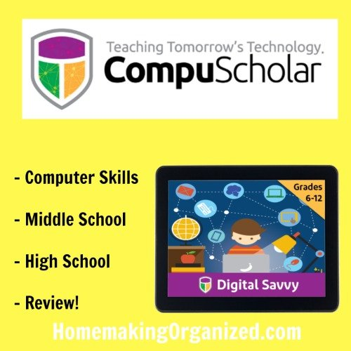 Learn Computer Skills Online with Digital Savvy {Homeschool Review}