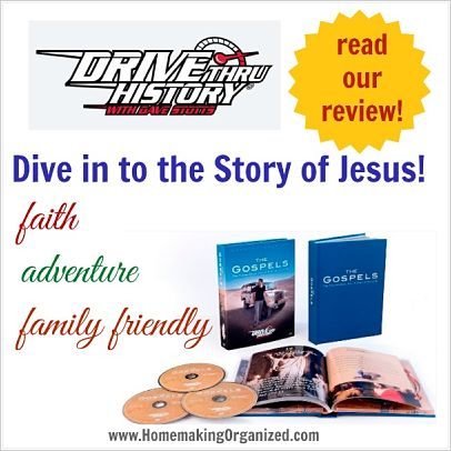 Drive Thru History, The Gospels a Homeschool Review Crew Review