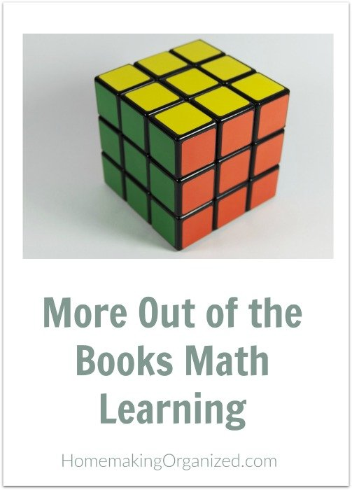 More Out of the Books Math Learning - Mini Series - Day 4 - 5 Days of Homeschool...