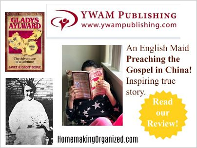 Gladys Aylward YWAM Publishing a Homeschool Review Crew Review