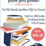 It's Time to Pull Your Homeschool Curriculum Together at a Bargain! Build Your Bundle Sale is Live!