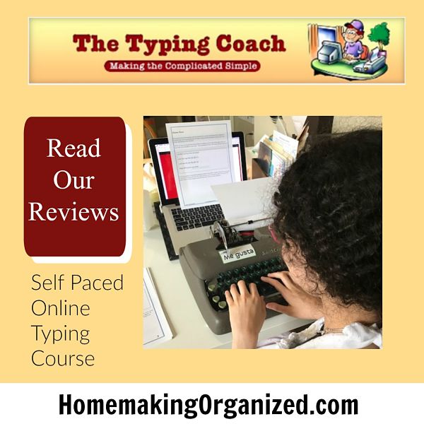 The Typing Coach a Homeschool Review Crew