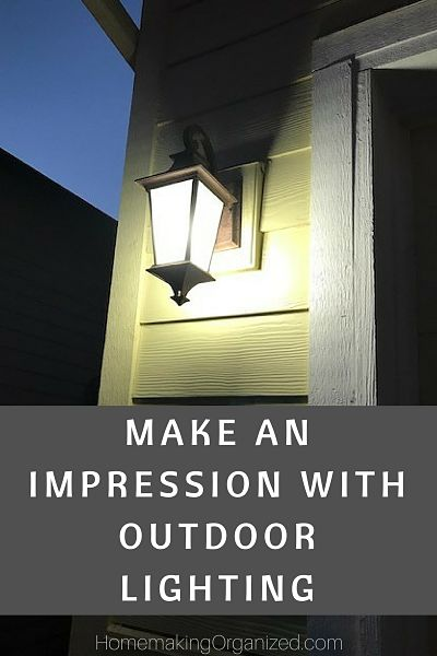 Make an Impression with Outdoor Lighting (on Your Home that Is)