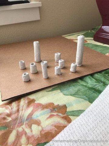A set of Rigid Wrap beads