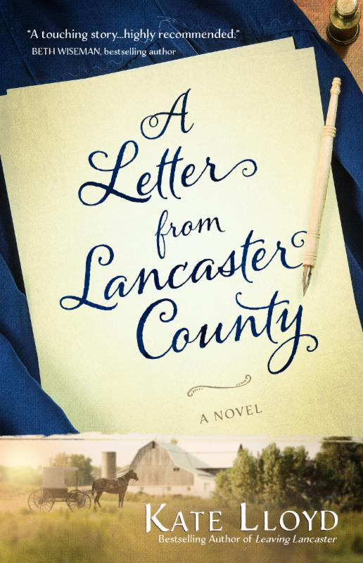 A Letter from Lancaster by Kate Lloyd {a Book Review}