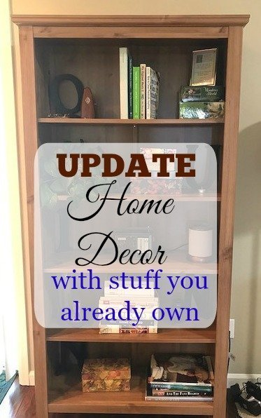 Update Home Decor with What You Have Around the House