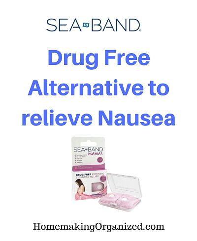 Ease Morning Sickness with Sea Band Anti Nausea products
