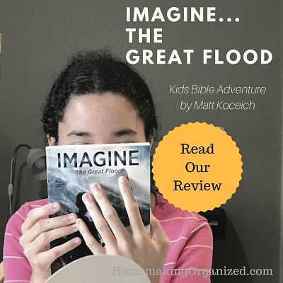 Imagine…the Great Flood Through a Child's Eyes {Book Review}