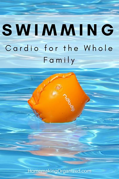 Swimming as a Cardio Exercise for the Whole family