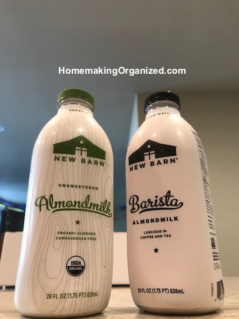 I Was More Interested In Trying The Barn Barista Almond Milk It Has A Little Bit Of Added Sugar And Is Thicker Creamier Than Organic Unsweetend