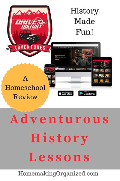 Drive Thru History Adventures Homeschool History Curriculum - Homemaking Organized