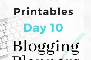 Free Blogging Planners