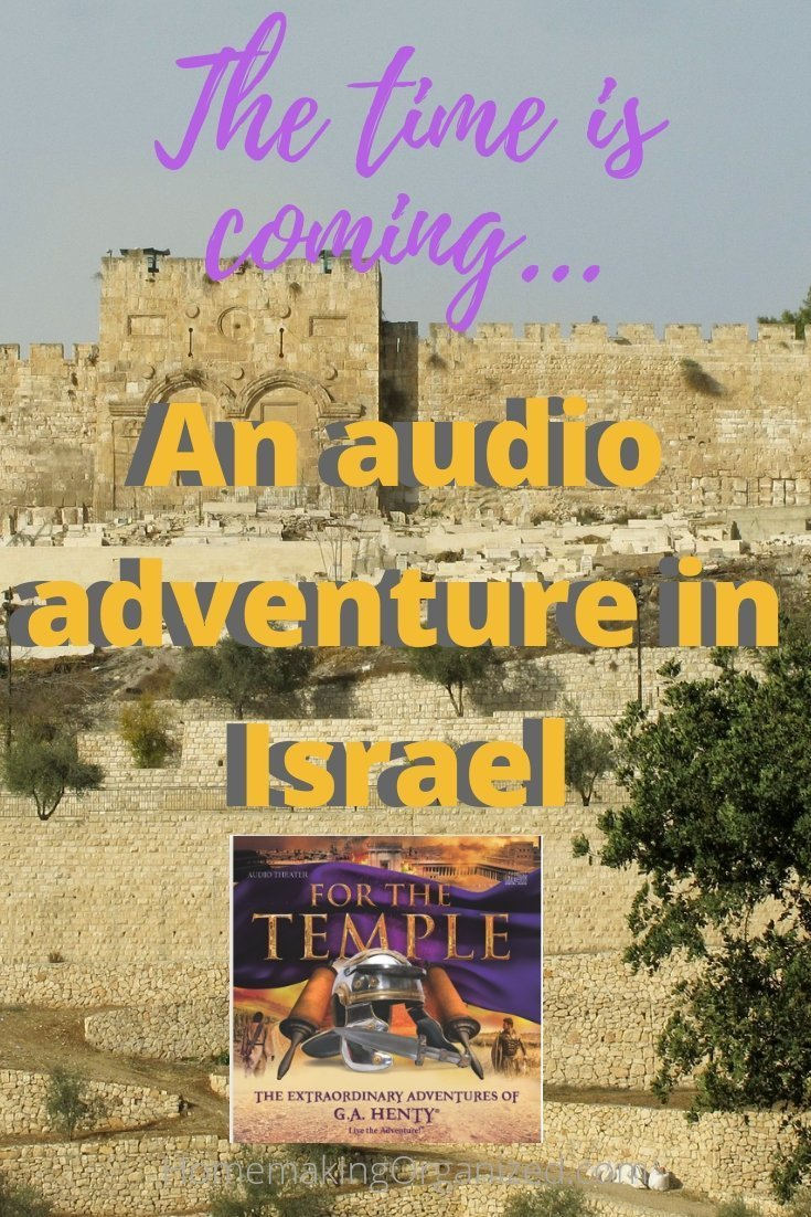 For the Temple Audio Adventure by Heirloom Audio