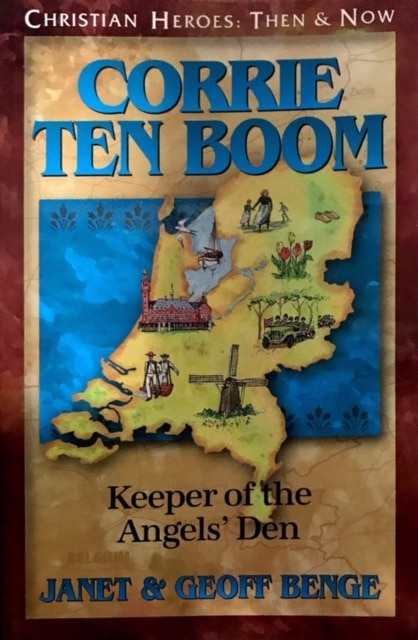 Cover of Corrie Ten Boom : Keeper of the Angel's Den by YWAM Publishing.