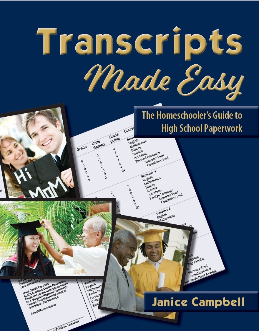 Transcripts made easy front cover.
