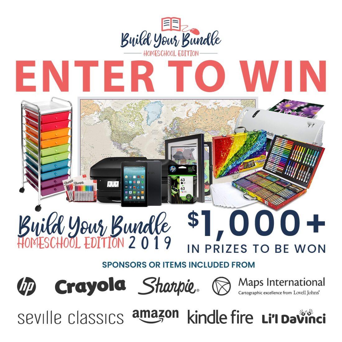 Build Your Bundle Homeschool Giveaway