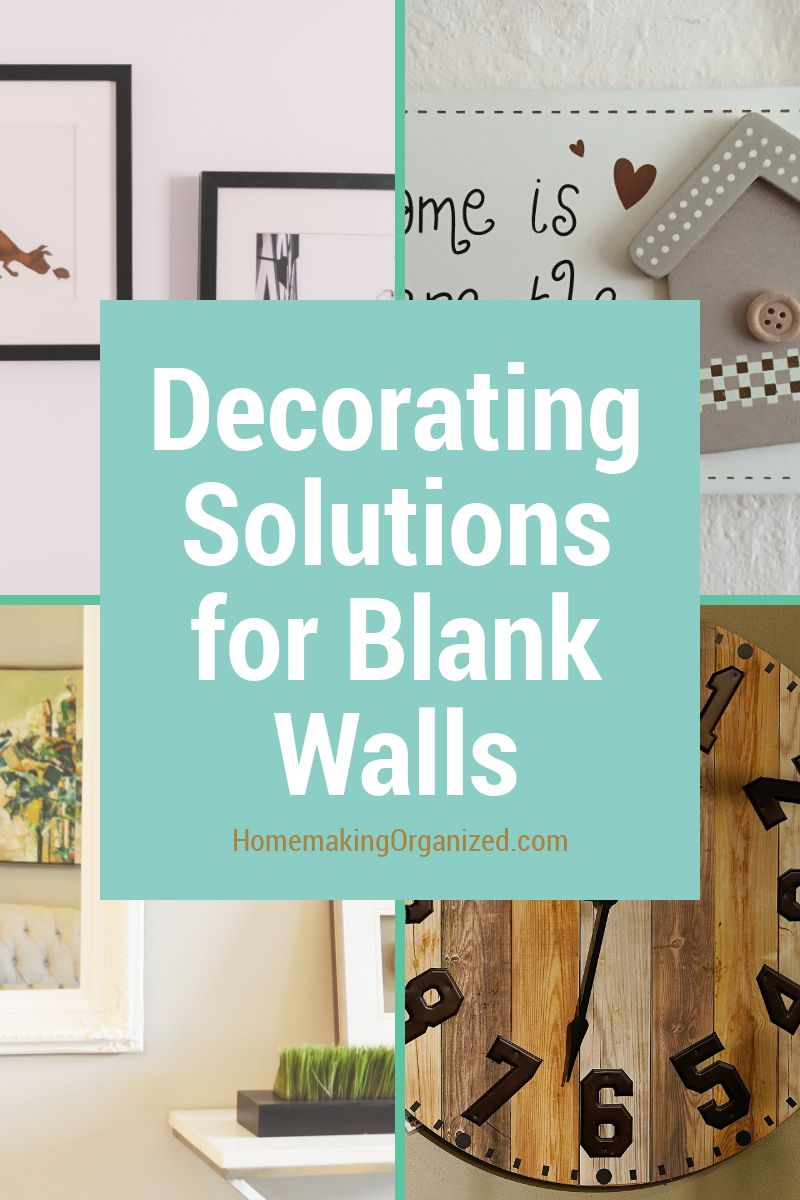 6 Decorating Solutions for BIg Blank Walls in Bedrooms ...