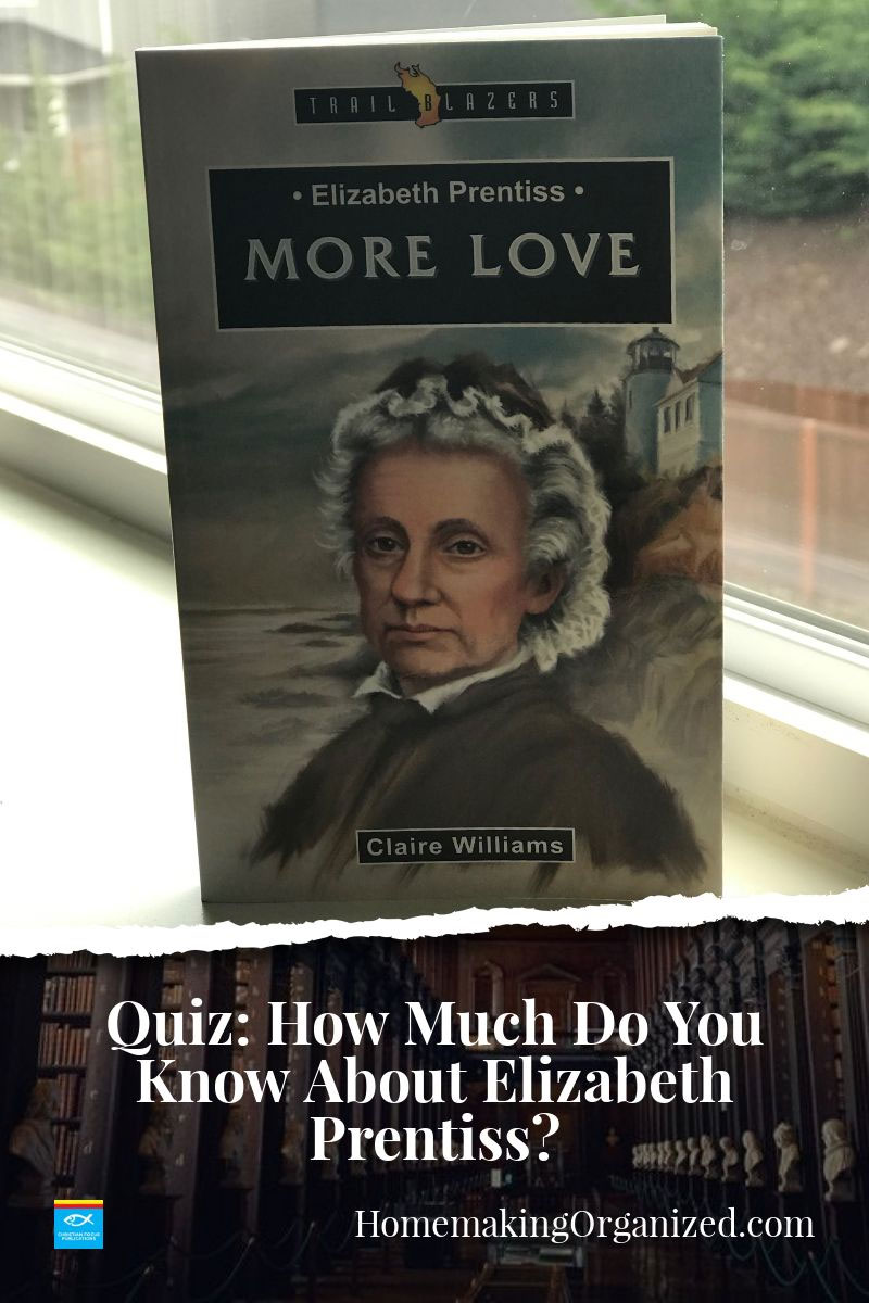 Elizabeth was a bright young girl who knew what it was to have a heart sore with troubles. Read about her life. In More Love.