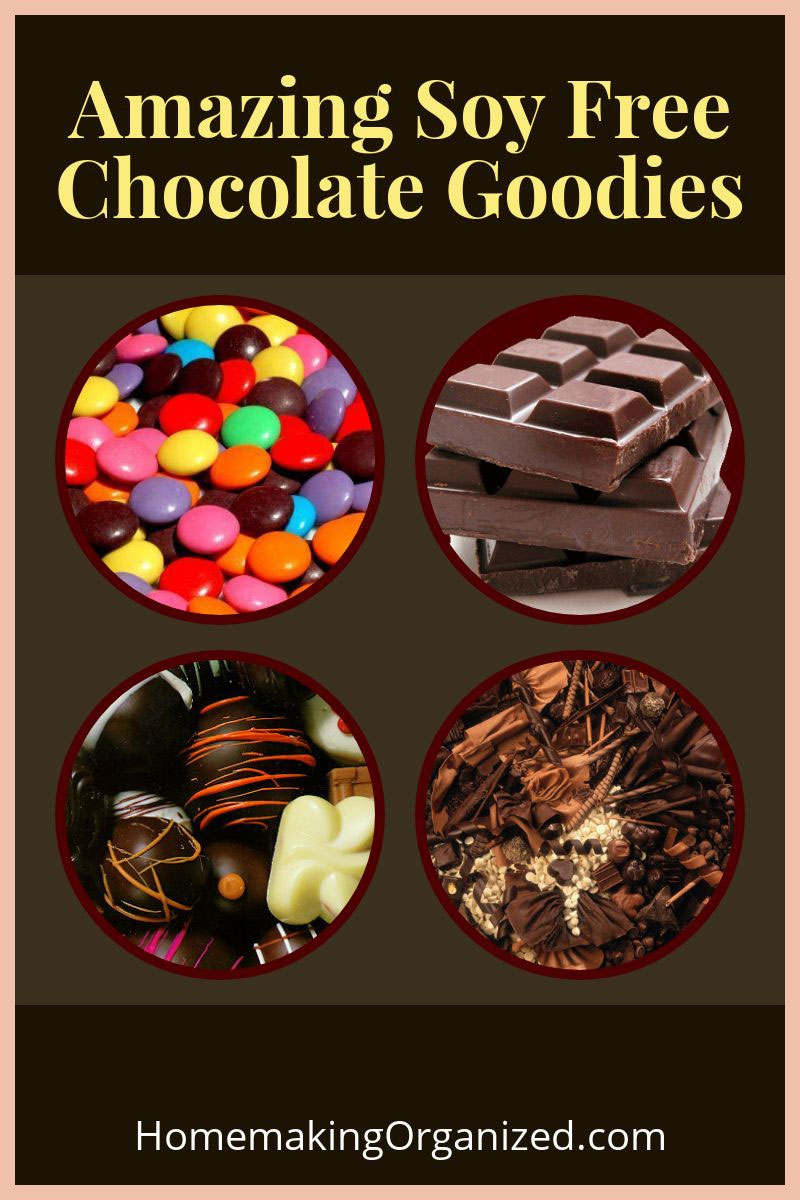 This is my personal list of chocolate I regularly buy with my soy allergy.