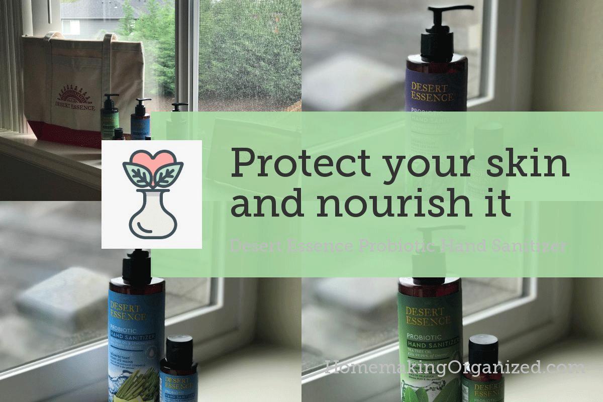 Desert Essence Probiotic Hand Sanitizer Blog Post