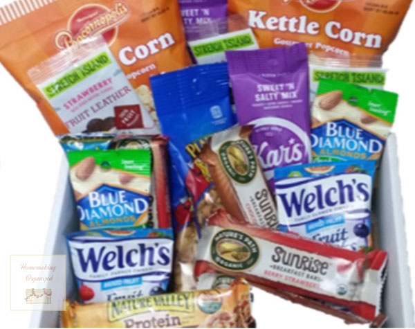 Gluten Free Masters snack subscription box