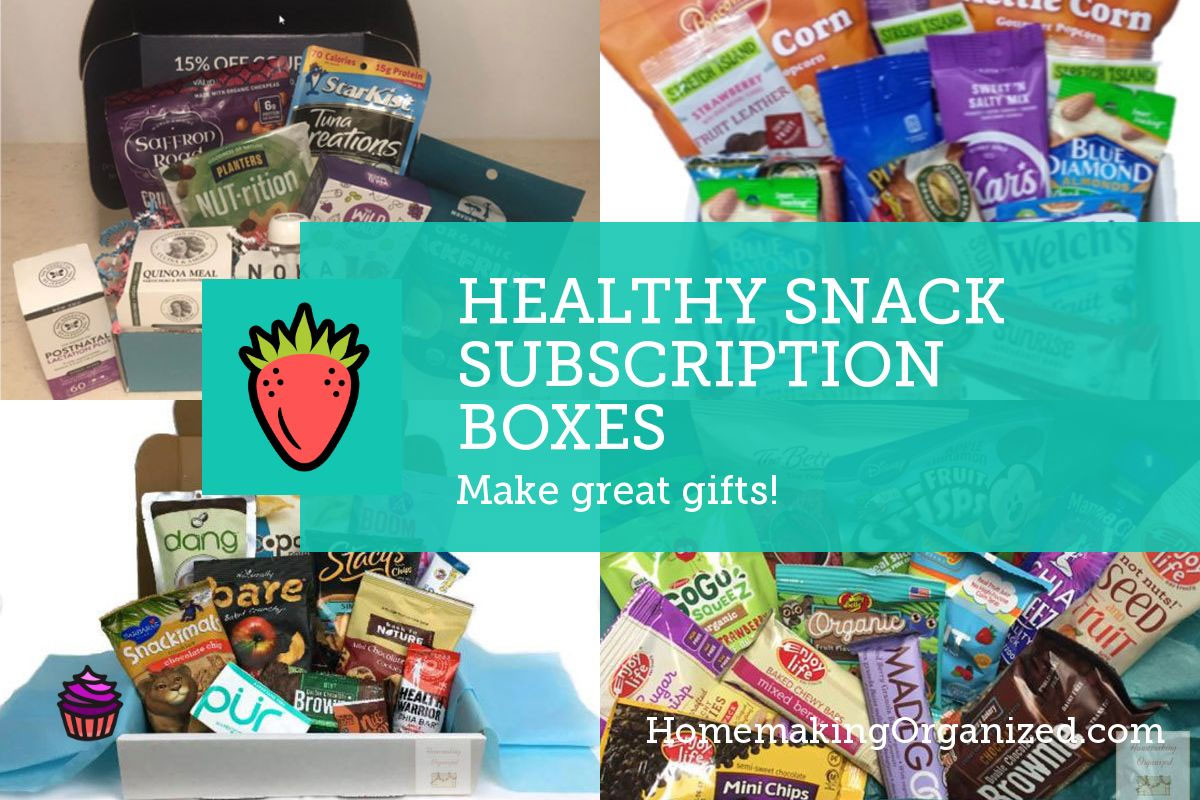 Snack Subscription box list