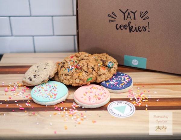 Ten Thousand Cookies Subscription Box
