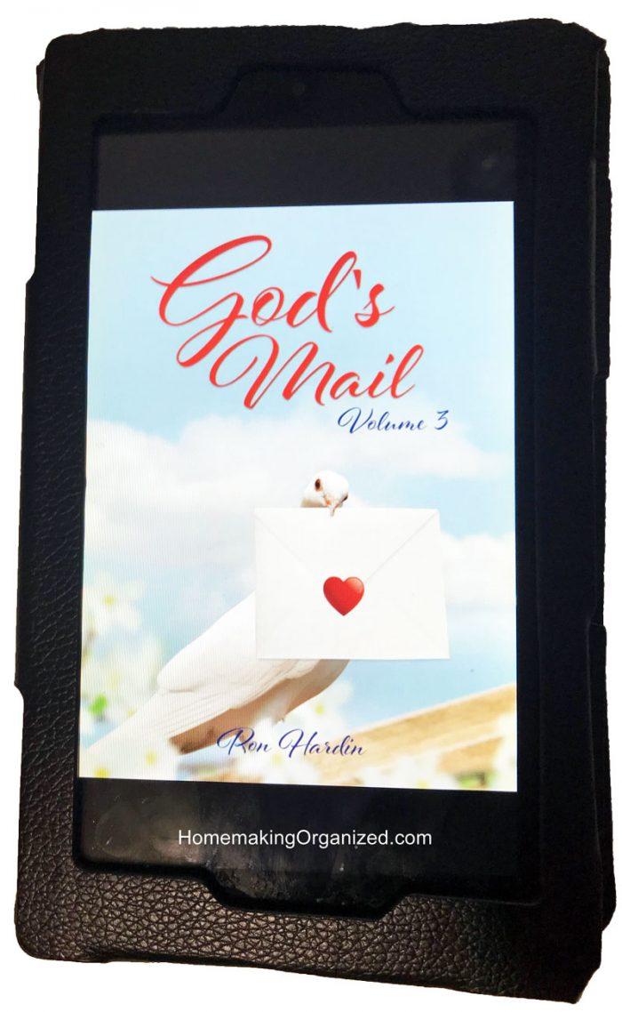 God's Mail on my Kindle