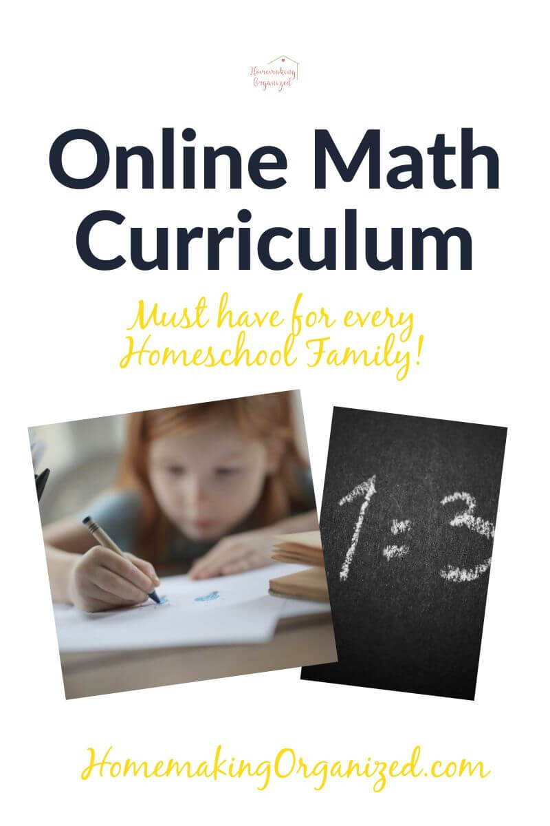 Online Math Curriculum for every homeschool family.