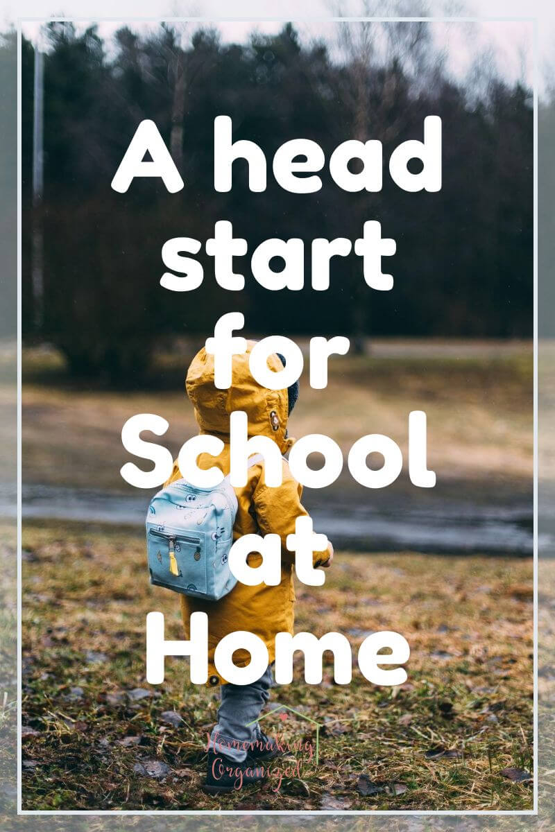 A head start for school at home with BJU Press Homeschool K4 Foundations