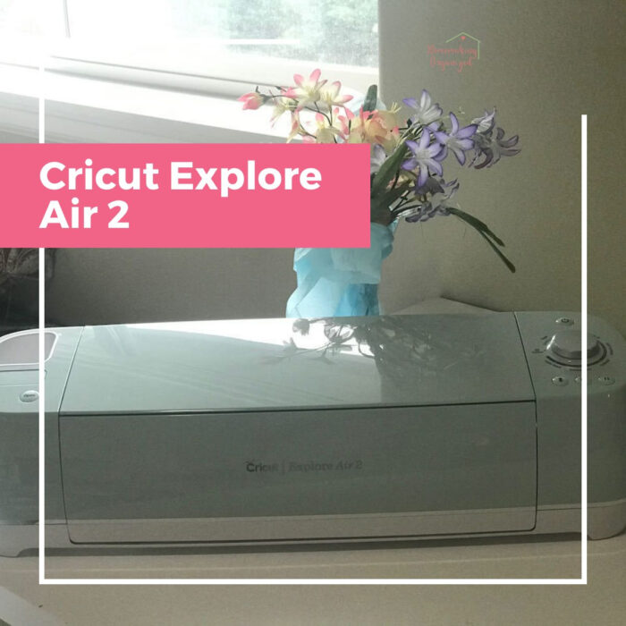 Cricut Air Explore 2 for making Greeting Cards