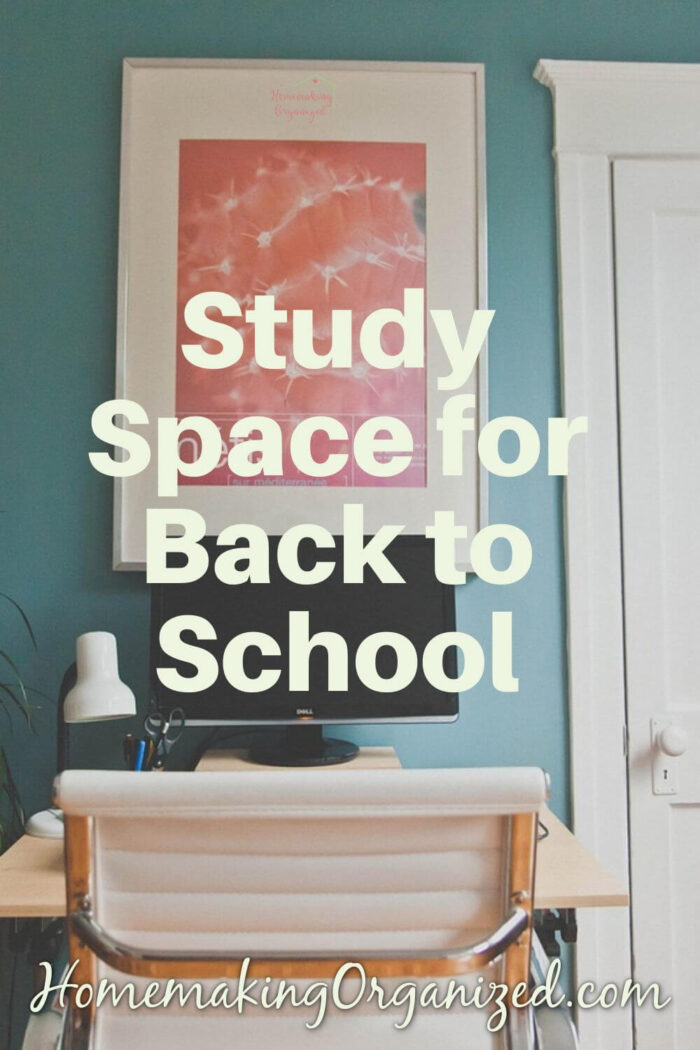Study Space for Back to School